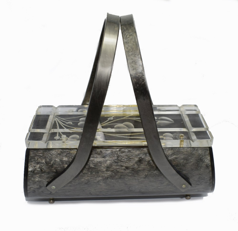 ladies 1930's lucite bag by rialto of new york
