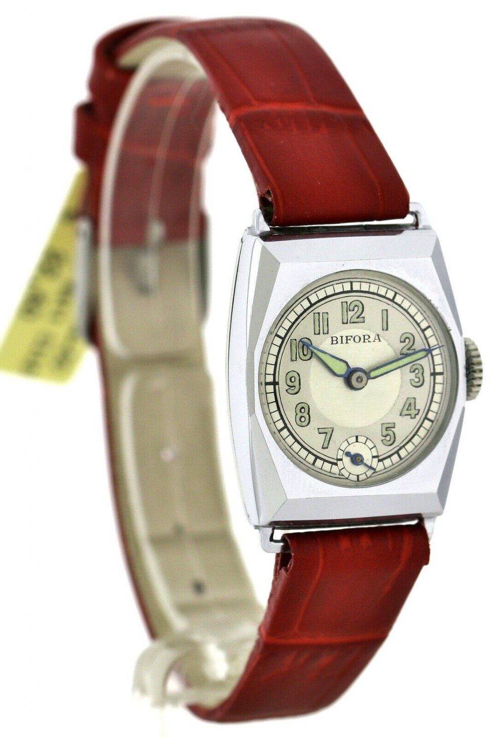 art deco gents wristwatch old stock never worn newly serviced 1930
