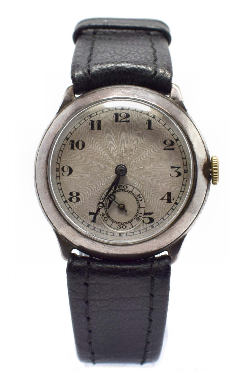 art deco 1930's mens manual wrist watch