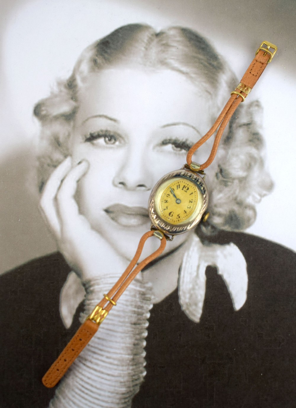 art deco ladies wrist watch c1938